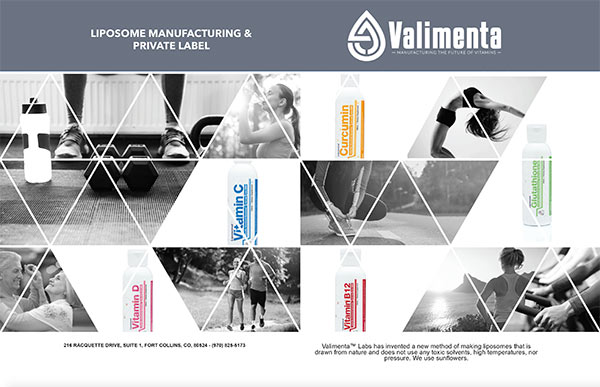 Valimenta Products Brochure